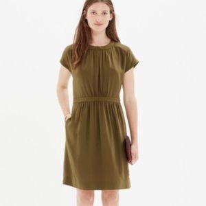 New without tags silk Madewell dress